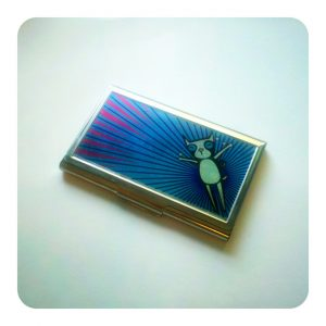 CMYK Zoom Business Card Holder