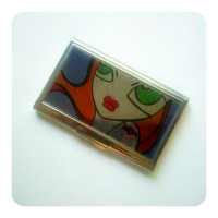 Jealousy Business Card Holder